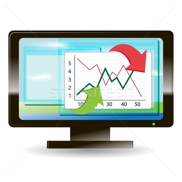 monitor Stock photo © brux