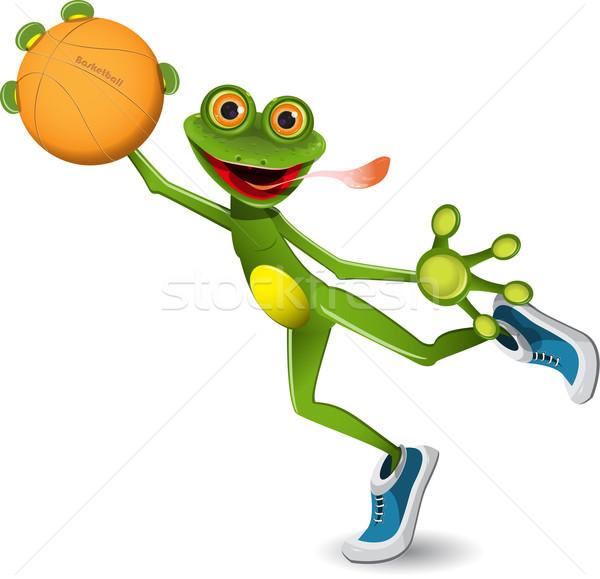 frog basketball Stock photo © brux