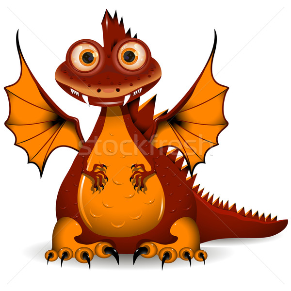 red Dragon Stock photo © brux