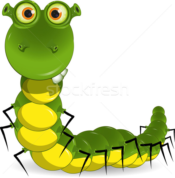 green worm Stock photo © brux