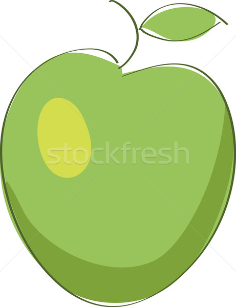 green apple Stock photo © brux