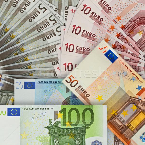 Euro banca grafico arrow nota Foto d'archivio © brux