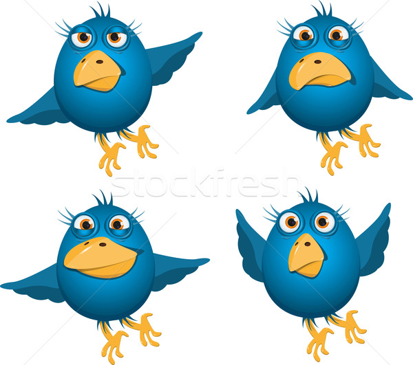 blue birds Stock photo © brux