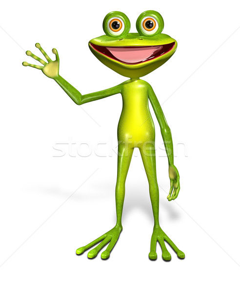 green frog Stock photo © brux