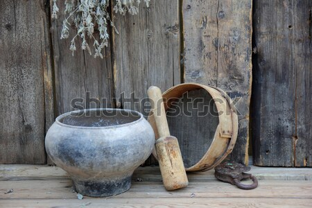 wooden ware Stock photo © brux