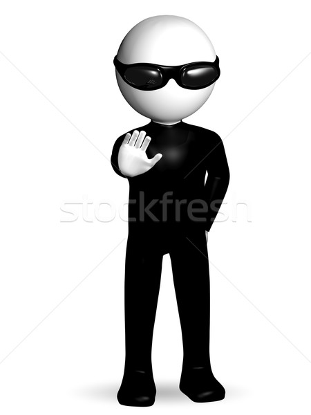 security guard Stock photo © brux