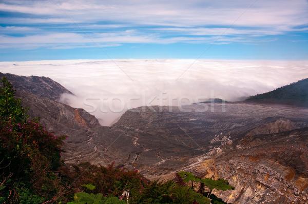 山 雲 空 自然 ストックフォト © bryndin