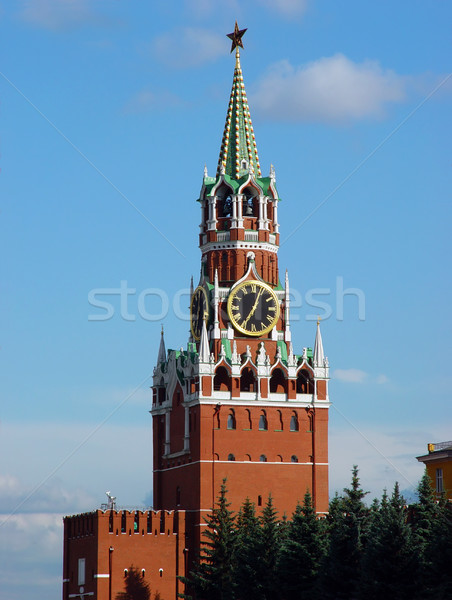 塔 モスクワ クレムリン メイン 東部 壁 ストックフォト © bryndin