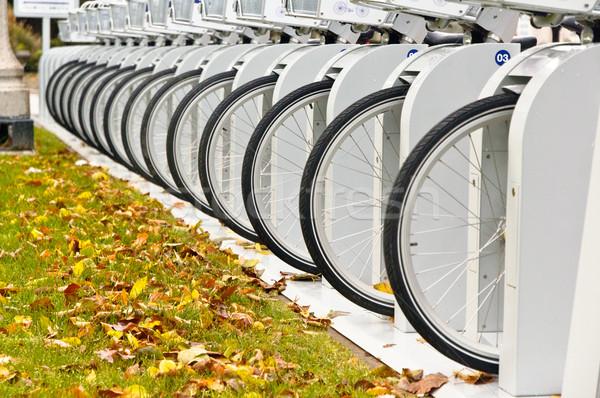 自転車 ホイール フロント 家賃 ストックフォト © bryndin