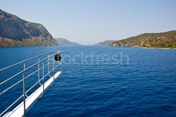 島々 海 トルコ語 クルーズ ボート ストックフォト © bryndin