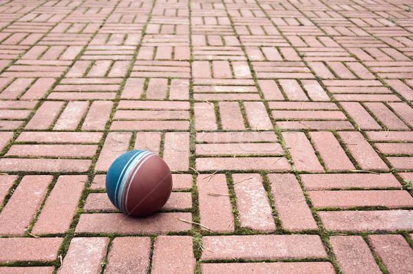 ボール 舗装 タイル 小 テクスチャ ストックフォト © bryndin