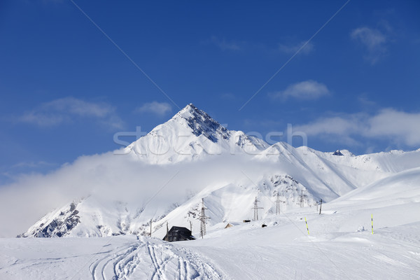 Ski resort in Caucasus Mountains Stock photo © BSANI