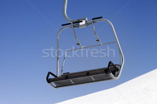 Chair-lift close-up view Stock photo © BSANI
