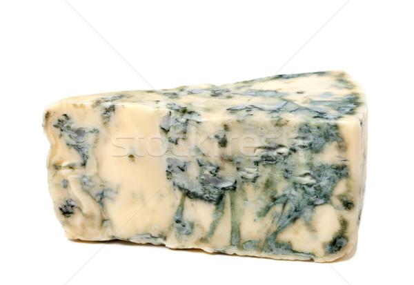 作品 ブルーチーズ 孤立した 白 背景 青 ストックフォト © BSANI