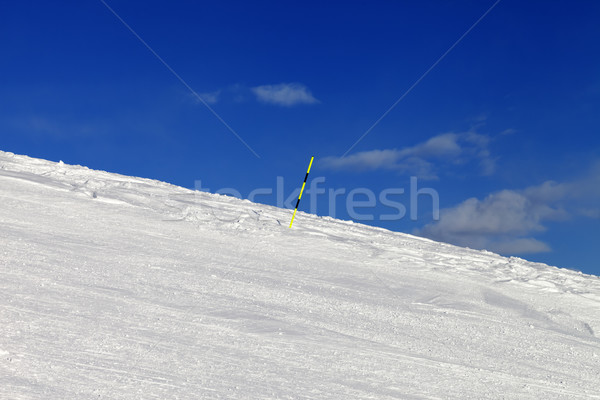 Ski trail on winter resort Stock photo © BSANI