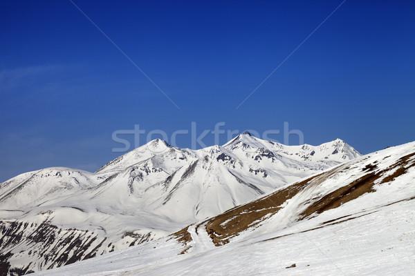 山 コーカサス グルジア スキー リゾート ストックフォト © BSANI