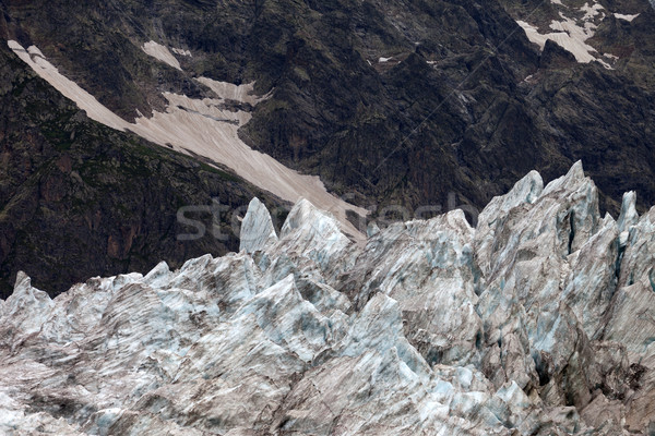 Glacier in Caucasus Mountains, Georgia. Stock photo © BSANI