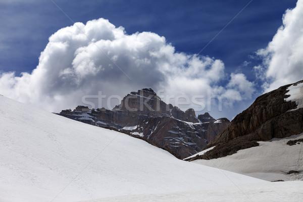 пород облака снега плато Турция центральный Сток-фото © BSANI