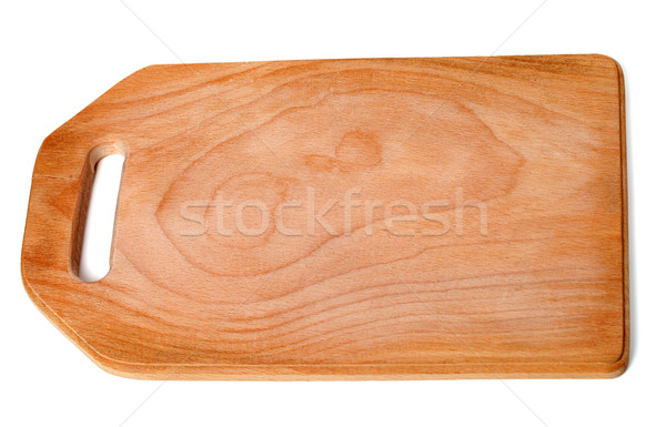 Wooden cutting board Stock photo © BSANI
