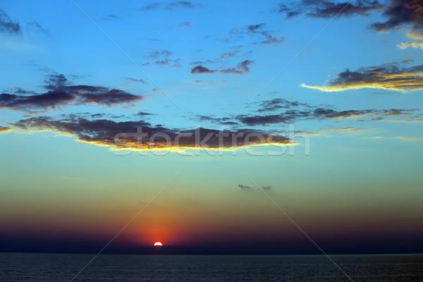 Sea at sunset Stock photo © BSANI