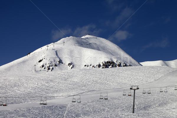 Ski resort at nice winter day Stock photo © BSANI