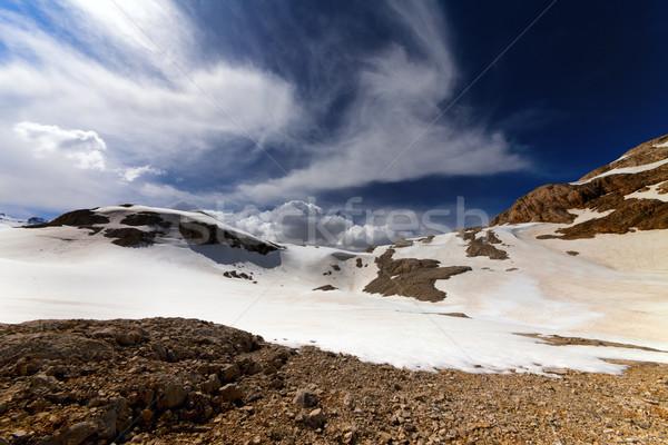 山 高原 トルコ セントラル 山 ストックフォト © BSANI