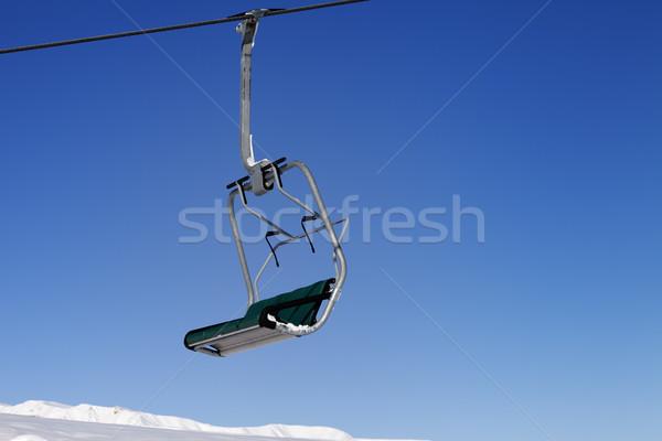 Blue Sky Кавказ небе пейзаж горные зима Сток-фото © BSANI