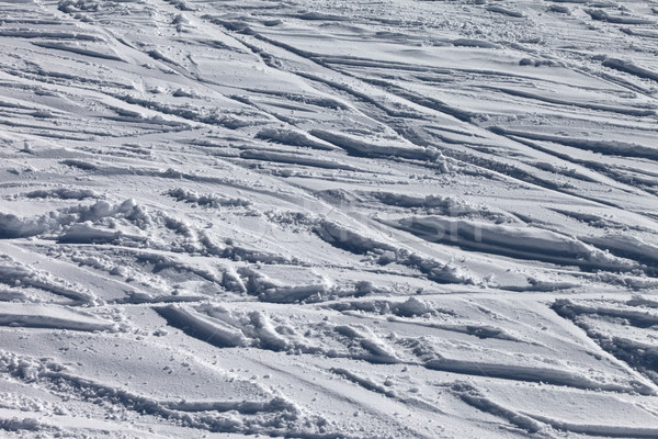 Background of off-piste ski slope Stock photo © BSANI