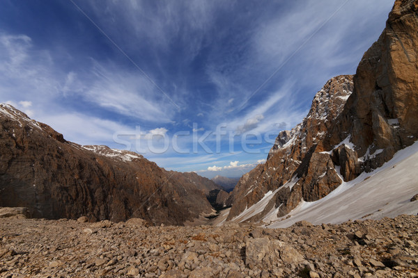 Top view of the valley. Turkey, Central Taurus Mountains Stock photo © BSANI