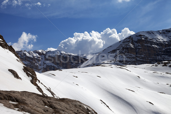 Mountains in nice day Stock photo © BSANI