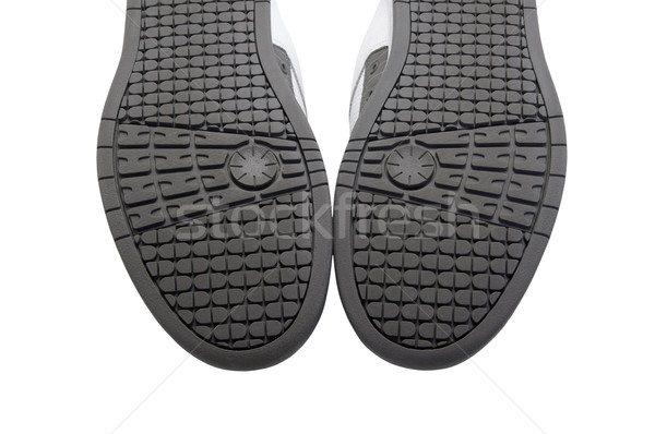 Stock photo: Sneakers soles upward