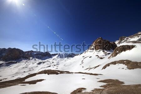 плато Blue Sky солнце Турция центральный гор Сток-фото © BSANI