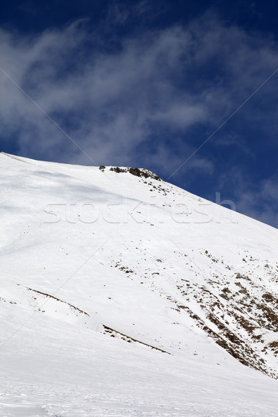 Off-piste slope with stones Stock photo © BSANI