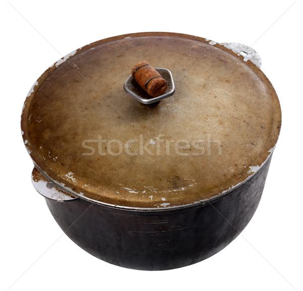 Old dirty pot  Stock photo © BSANI