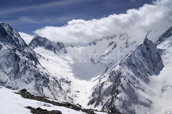 Caucasus Mountains. Stock photo © BSANI