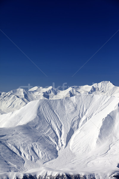Snow slope in high mountains Stock photo © BSANI