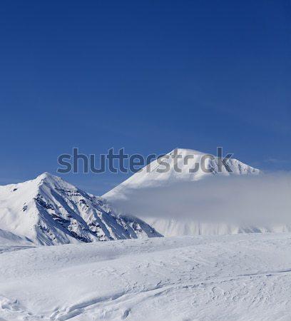 Winter mountains, ski resort Stock photo © BSANI