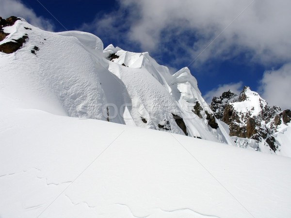 Snow ridge Stock photo © BSANI