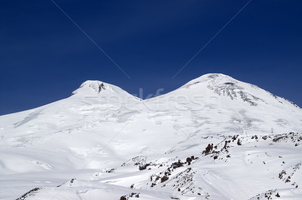 Caucasus Mountains. Mount Elbrus Stock photo © BSANI