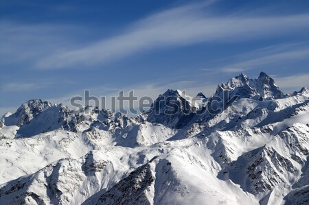 View from Elbrus Stock photo © BSANI