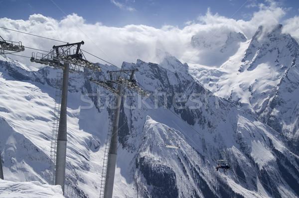 Ski resort Stock photo © BSANI
