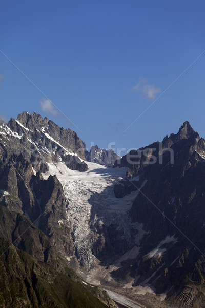 Icefall in high mountains Stock photo © BSANI