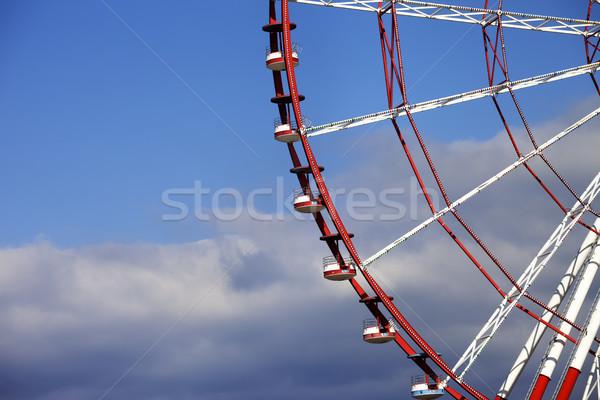 Part of ferris wheel Stock photo © BSANI