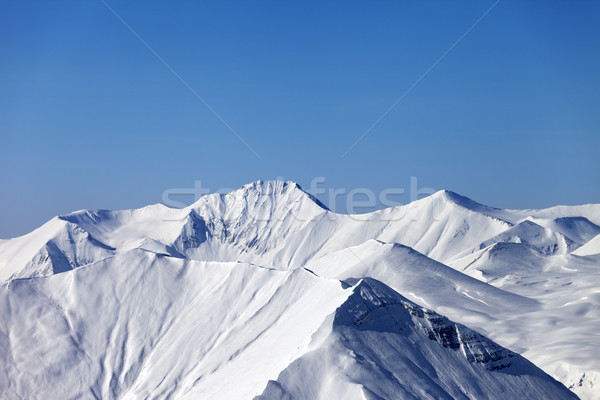 Mountains in winter Stock photo © BSANI
