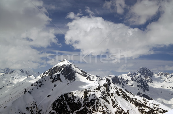 Caucasus Mountains. Dombay. Semenov Bashi Stock photo © BSANI