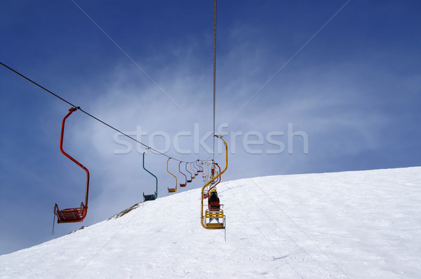 Old chair-lift Stock photo © BSANI