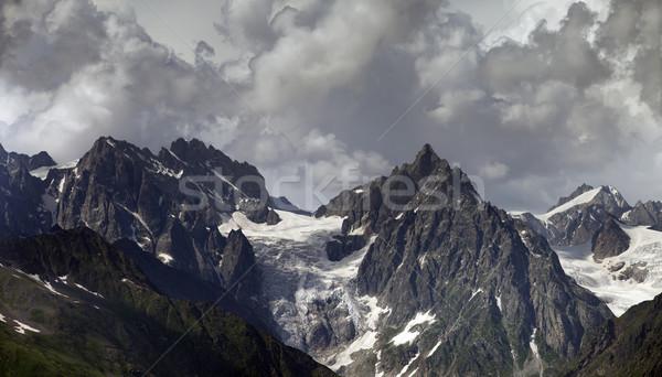 Cloudy Mountains Stock photo © BSANI