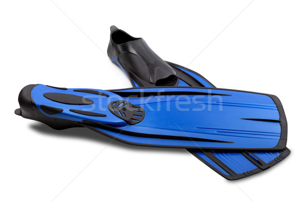 Two flippers for diving Stock photo © BSANI