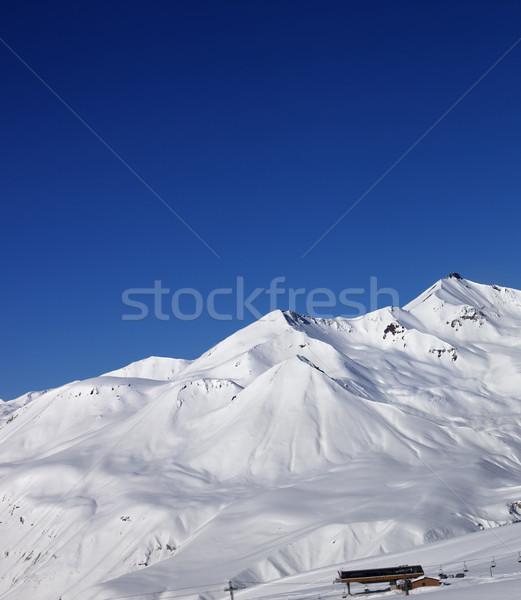 Nice caucase montagnes Géorgie Photo stock © BSANI