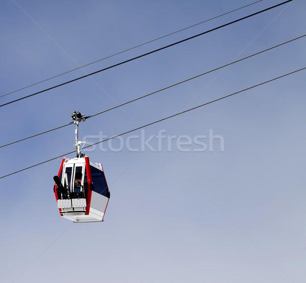 гондола лифт лыжных курорта Грузия Кавказ Сток-фото © BSANI